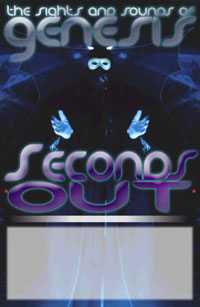seconds out poster